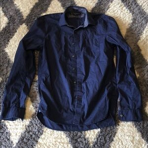 American Eagle AE Slim Dress Button Down Shirt XS